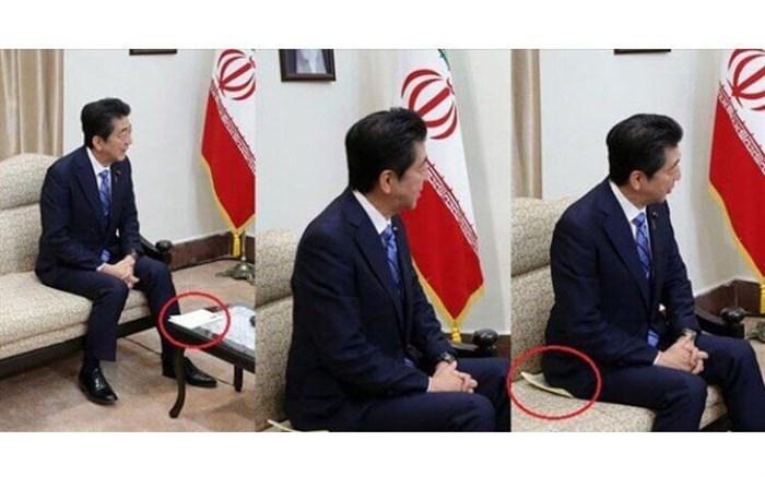 واکنش ژاپن به ماجرای نامه همراه آبه در دیدار با رهبر معظم انقلاب + تصویر