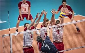 لیگ ملتهای والیبال؛  ایران با برد نفسگیر صدرنشین ماند