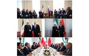 دیپلماسی فعال ایران ادامه دارد + تصاویر