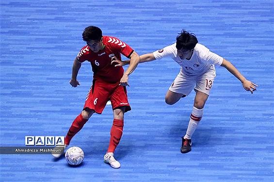 دیدار تیمهای فوتسال زیر ۲۰ سال آسیا/ افغانستان و هنگ کنگ