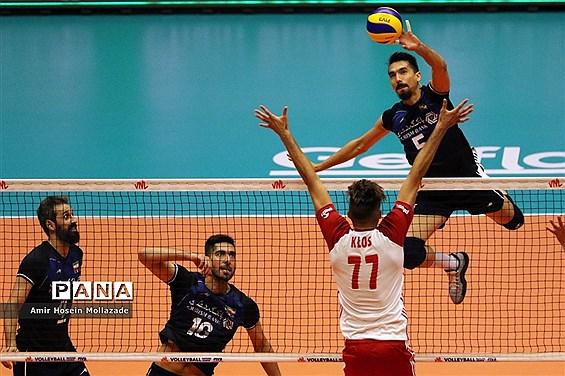 هفته سوم لیگ ملتهای والیبال | ایران 3 - 2 لهستان