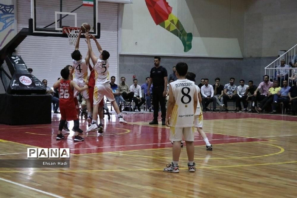 اولین دوره لیگ مینی بسکتبال شهرداری مشهد