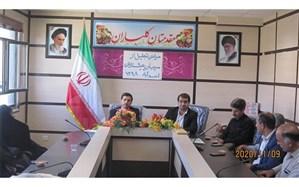 مراسم تجلیل از مربیان پیشتاز اسدآباد با حضور رییس سازمان دانش آموزی استان همدان