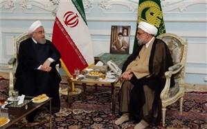 روحانی: دولت برای خدمت بهتر به زائران و مجاوران حرم رضوی در کنار تولیت آستان قدس است