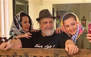 مهراوه شریفینیا با این تصویر به استقبال تولد پدرش رفت