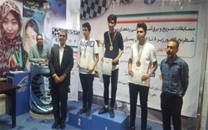 درخشش دانش آموز البرزی در مسابقات شطرنج قهرمانی کشور