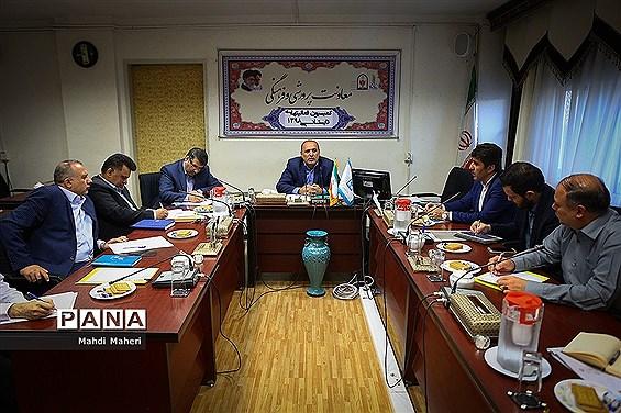 جلسه کمیسیون فعالیتهای تابستانی دانش آموزان