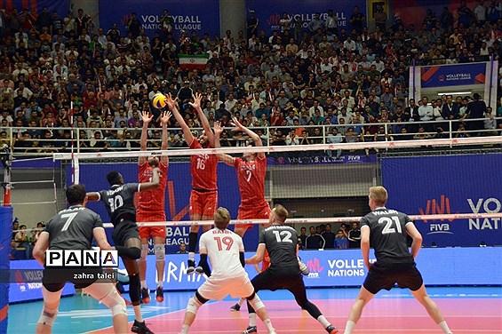 بازی های تیم ملی والیبال ایران مقابل کانادا و لهستان در هفته سوم لیگ ملت ها