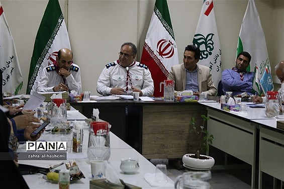نشست مدیران سازمان دانشآموزی تهران