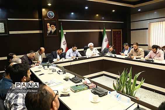نشست اعضای شورای معاونت سازمان بسیج رسانه مازندران با مدیر صداوسیما مرکز استان