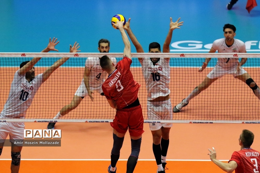 هفته سوم لیگ ملتهای والیبال | ایران 3 - 0 روسیه