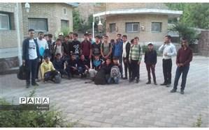 اعزام اولین کاروان اردوهای بنیاد علوی در سال 98