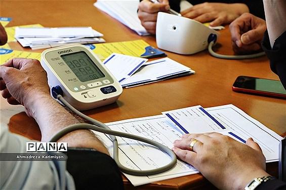 پیوستن مدیرکل و کارکنان آموزش و پرورش به بسیج ملی کنترل فشارخون