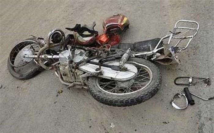تصادف موتورسوار