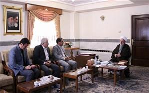دیدار فرماندارشهرری با تولیت آستان مقدس عبدالعظیم حسنی(ع)