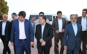 وزیر دادگستری وارد استان یزد شد