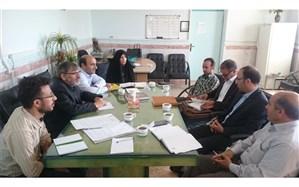 جلسه ستاد اسکان تابستانی آموزش و پرورش شهرستان ایجرود برگزار شد