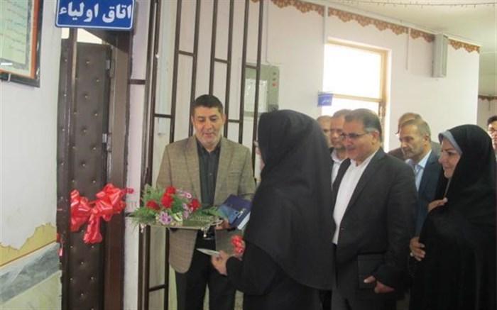 سایت کامپیوتری بیسیم استان و اتاق اولیا در آموزشگاه  دخترانه شاهد متوسطه دوره دوم شهیدجهازی