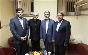 وزیر فرهنگ و ارشاد اسلامی به تماشای کنسرت کیهان کلهر رفت