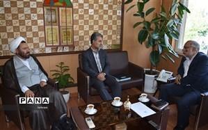 حضور مدیر عامل بنیاد خیرین حامی دانشگاه فرهنگیان در منطقه 2