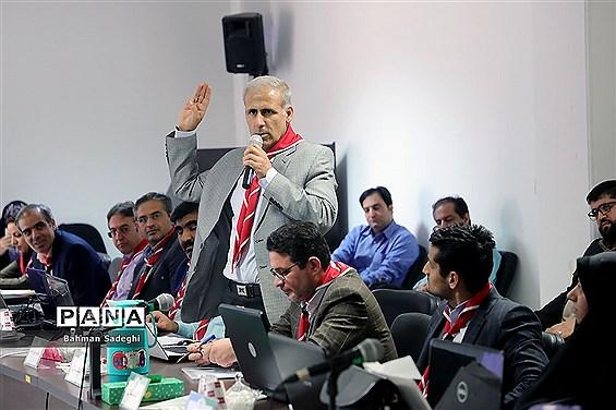 جلسه  توجیهی رابطان استانی سامانههای دانش آموزی