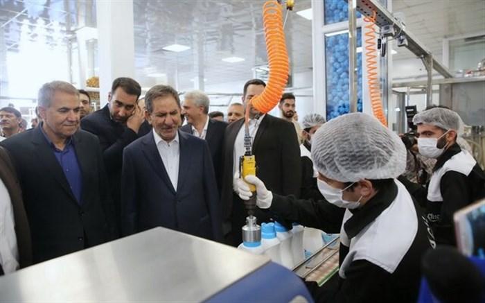 مجتمع تولید مایعات شوینده پدیده شیمی در زنجان افتتاح شد