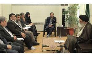 آیتالله حسینی همدانی : جریان سازی مهمترین عامل تسری فرهنگ در جامعه است