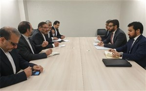 دیدار مشاور امنیت ملی رئیسجمهوری افغانستان با شمخانی