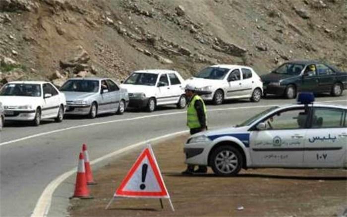 محدودیت تردد جاده چالوس