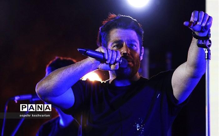 کنسرت محمدرضا گلزار در همدان