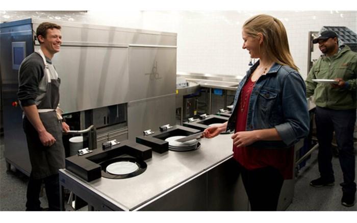 ماشین ظرفشویی رباتیک به کمک رستورانها میآید