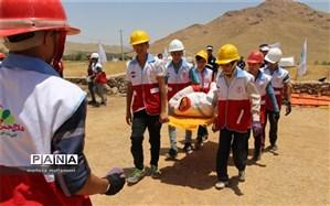 هفتمین دوره از المپیاد دانشآموزی هلال احمر یزد برگزار شد