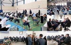 در بازدیداز حوزه های آزمون مدارس استعدادهای درخشان مطرح شد:شرکت380 نفردر آزمون مدارس استعدادهای درخشان فردوس و سرایان