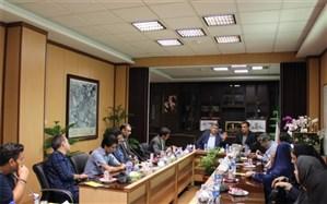 نشست خبری فرماندار و اصحاب رسانه اسلامشهر به مناسبت روز ملی اصناف