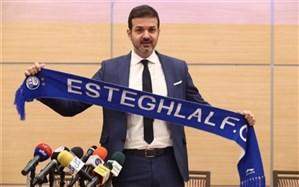 استراماچونی: هواداران استقلال میخواهند فوتبال ایتالیا را در ایران پیاده کنم