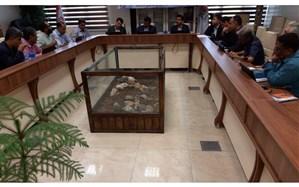 نشست انجمن رانندگان شرکتهای حمل و نقل با مدیرکل راهداری و حمل و نقل جاده ای استان