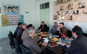 نشست روسای ادارات امور تربیتی استانهای قطب دو کشوری در سنندج برگزار شد