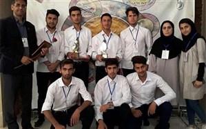 استان اردبیل موفق به کسب مقام سوم تیمی شد