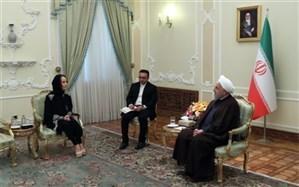 روحانی: حضور نظامی مداخلهجویانه آمریکا، ریشه مشکلات منطقه است