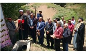 افتتاح پروژه های عمرانی وسیستم های نوین آبیاری به مناسبت هفته جهادکشاورزی در چاراویماق