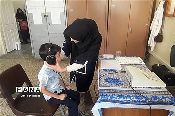آیین افتتاح طرح سنجش سلامت جسمانی و آمادگی تحصیلی نوآموزان آذربایجان شرقی