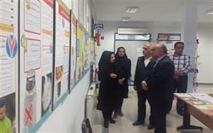 نمایشگاه طرح ملی کنترل فشارخون در آستارا دایر شد