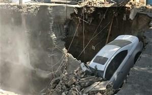 ریزش مرگبار ساختمانی در خیابان طالقانی