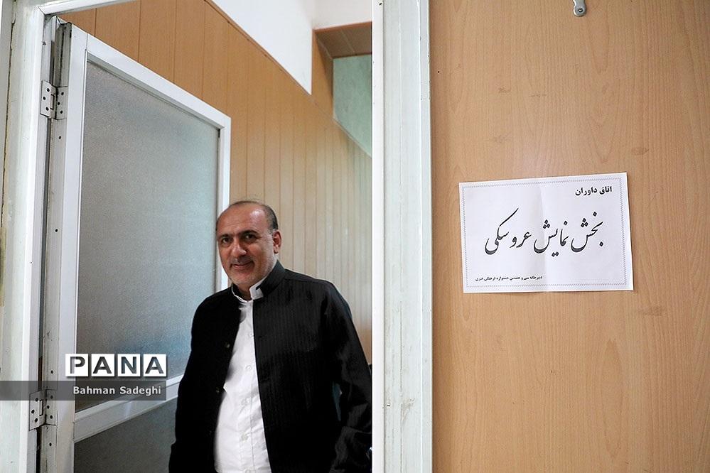 بازدید مدیرکل فرهنگی هنری  از دبیرخانه جشنواره فرهنگی هنری