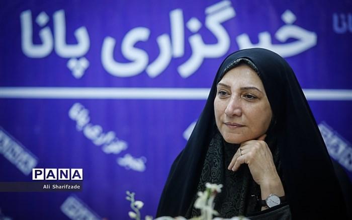 حضور زهرا نژادبهرام عضو شورای شهر تهران در خبرگزاری پانا