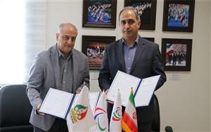 امضای تفاهمنامه همکاری فدارسیون ورزش دانشآموزی و کمیته ملی پارالمپیک