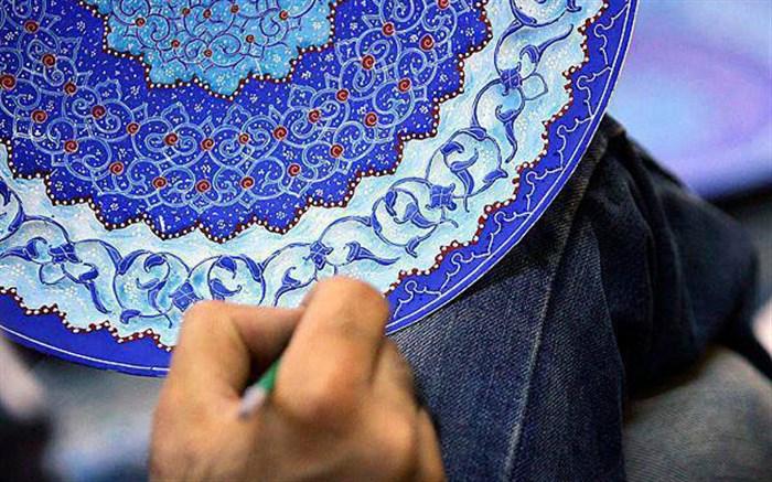 گزارش دانش آموزی: هنر میناکاری در شهرضای اصفهان
