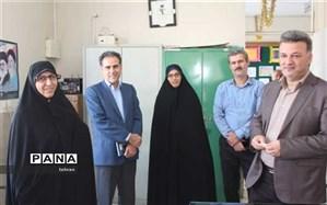 بازدید سرزده مدیرکل ارزیابی عملکرد وزارت آموزش و پرورش از منطقه 19
