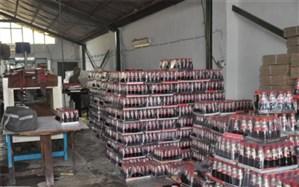 کارگاه تولیدآبمیوه غیربهداشتی در شهرستان ساوجبلاغ پلمپ شد
