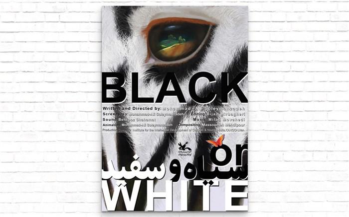 انیمیشن سفید و سیاه